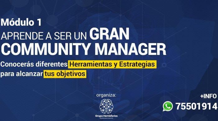 community manager grupo hemisferios