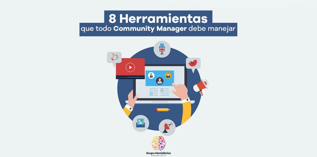 Herramientas Community Manager Grupo Hemisferios