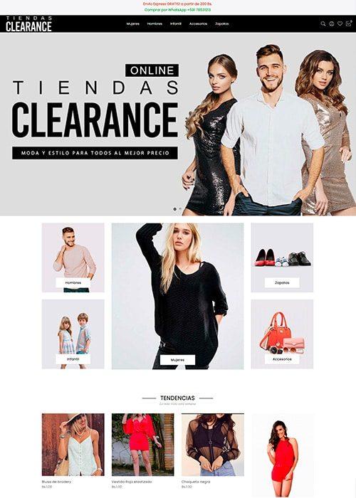Tiendas Clearance - Miniatura